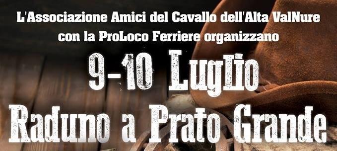 IN COLLABORAZIONE CON L'ASSOCIAZIONE AMICI DEL CAVALLO DELL'ALTA VALNURE: RADUNO A PARTO GRANDE 9/10 LUGLIO
