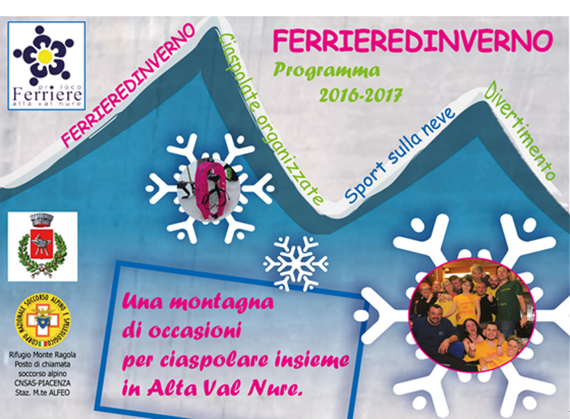 Calendario Ferrieredinverno 2016-2017